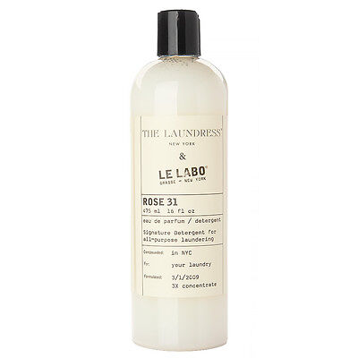 NEW The Laundress Le Labo Rose 31 Scented Detergent 475ml
