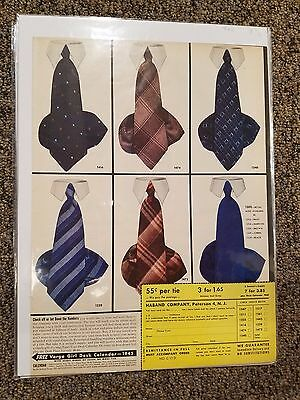 1944 LIFE Magazine Haband Tie Company Advertisement