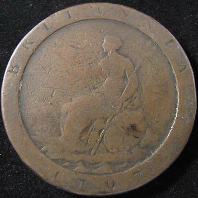 P206 - 1797 - Great Britain - 1 Penny Coin - Km#618 - Nr