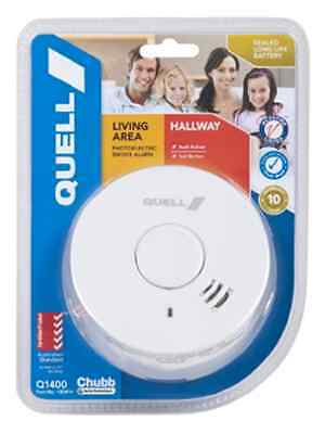 Smoke Alarm New Quell 10Year Sealed Lithium Intelligent Photoelectric Detector
