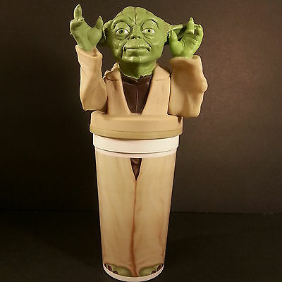 Star Wars Yoda Cup & Topper Sealed Straw Episode 1