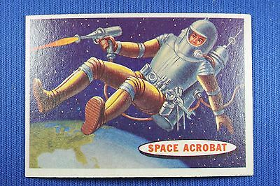 1957 Topps Space Cards - #25 Space Acrobat - VG/Ex Condition