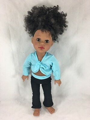 "2009 Madame Alexander African American 18"" Doll"
