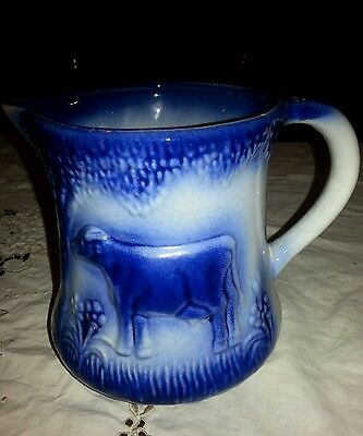 RARE Antique grazing cows pitcher ( over 100 years old!)