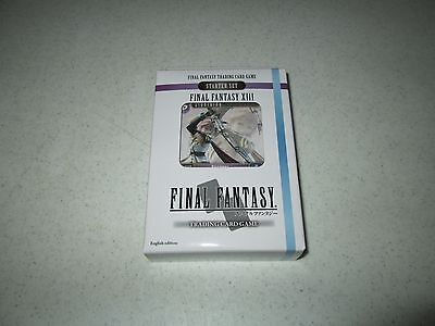 Final Fantasy TCG  Opus I Starter Deck XIII Ice And Lightning FREE SHIPPING