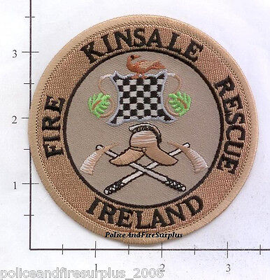 Ireland -  Kinsdale Fire Rescue Fire Dept Patch v1