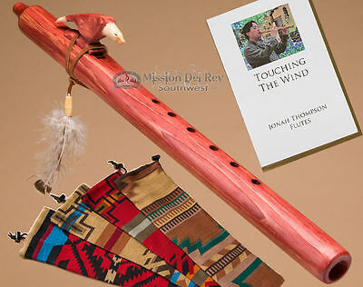 "Native American Flute 18"" & Bag -Cherry Eagle"