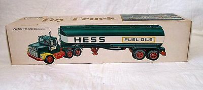 1977 Hess oil tanker toy MINT in MINT box out of the case condition