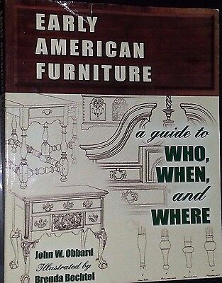Vintage Furniture Reference Guide Collector's Book 464 Pages Desk Table Sofa