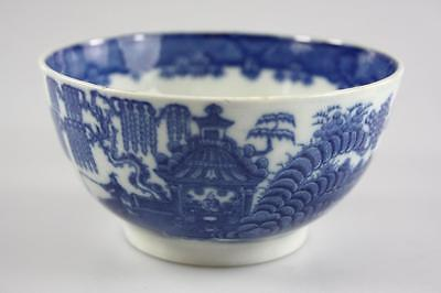 Chinese Antique Qing Dynasty Qian Long Period Export Blue And White Bowl