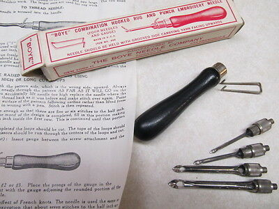 The Monarch Needle ( Rug Punch Needles) Vintage