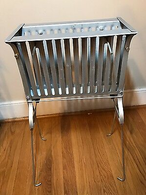 Broiloaster Vertical Broiler Charcoal Grill Vintage 1960s Mid Century Industrial