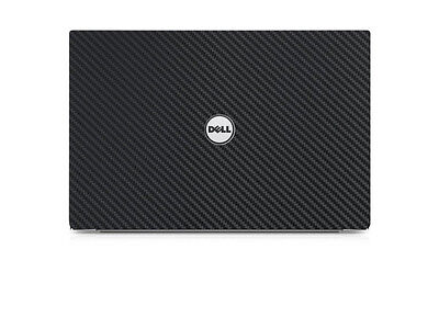 "Black Carbon  Skin Cover Guard for Dell XPS 9550 15 15.6"" Laptop."