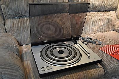 Vintage Bang & Olufsen Beogram 1602 Turntable with MMC 20E Stylus, excellent.