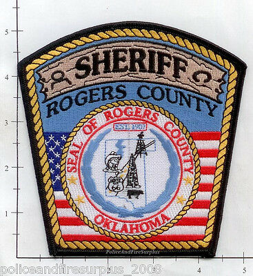Oklahoma - Rogers County Sheriff OK Police Dept Patch