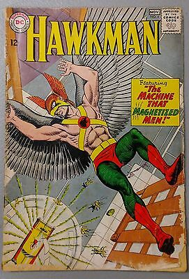 Hawkman #4 VG 1st Zatanna Origin and 1st Appearance 1964 Very Rare - DC Comics