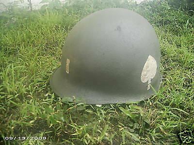 Wwii 101St Airborne Lieutenant Military Army Helmet