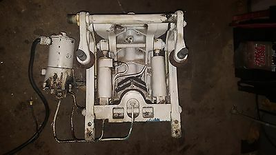 Force Chrysler Power Trim Unit 85 125 150 90 120 AS IS