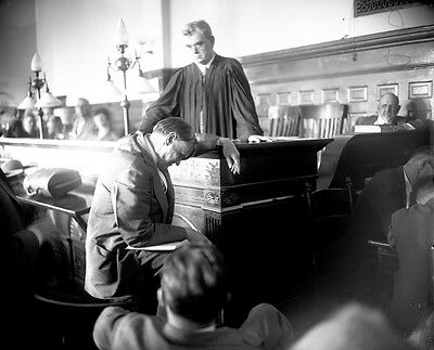 Clarence Darrow argues for life sentences for Loeb, 18, and Leopole in 1924