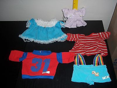 Vintage lot of cabbage patch doll clothes