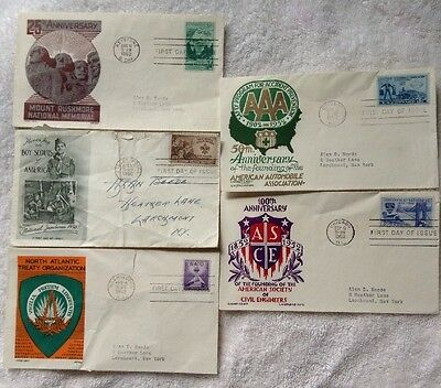 BOY SCOUTS of America STAMP ENVELOPE Lot Collectable Stamp Mount Rushmore