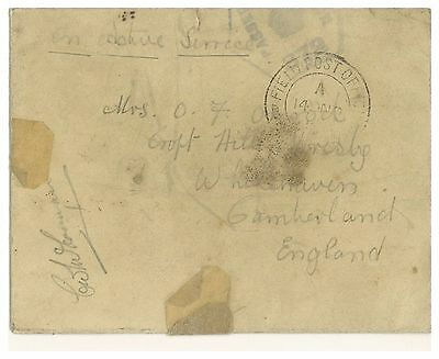 Great Britain Forces Mail Fpo To England