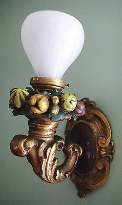 Pair of Single-Arm Heavy Bronze Sconces E. F. Caldwell New York. 1900-1910