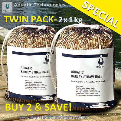 Barley Straw Bales 200g - For the Prevention of New Algae Growth in Dams & Ponds
