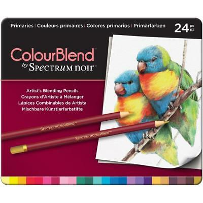 Brande New - Spectrum Noir - ColorBlend Pencils 24/Pkg - PRIMARIES - SPECCBPR