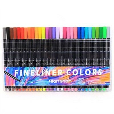 0.4mm 30pcs Fineliner Colors Marker Pens Good Drawing Water Based Assorted Ink