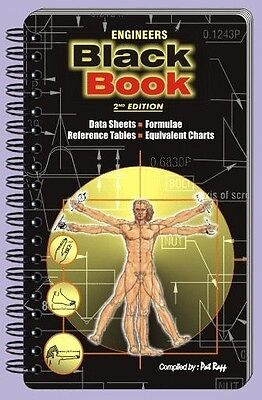 """Engineers """"Black Book"""" 2nd Edition Reference Guide - Full of great info!!!"""