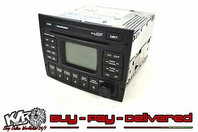 Holden VY HSV VZ 6 Stacker Head Unit CD Player Black Headunit Stereo Radio - KLR