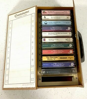 Retro Cassette Tapes - Assorted  Lot Of Cassettes