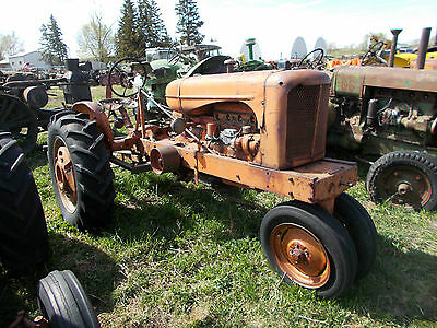 allis chalmers tractor w.c