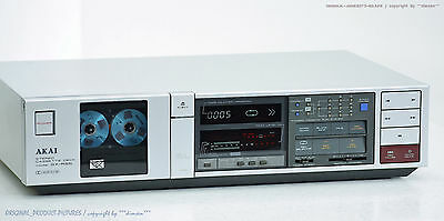 AKAI GX-R55 Vintage High-End Cassette Tape Deck Top-Zust!! Revidiert+1J.Garantie