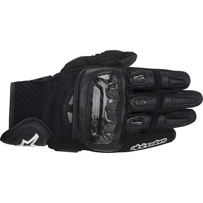 NEW Alpinestars GP Air Street Black Motorcycle Vented Leather Road Bike Gloves