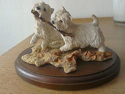 sherrat and simpson West Highland white terriers