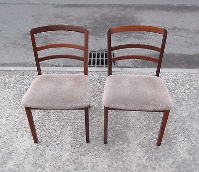 Pair Of Vintage G Plan Dining Chairs     Delivery Available
