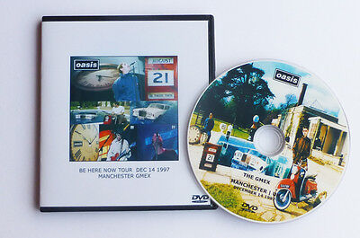 OASIS BE HERE NOW TOUR - GMEX MANCHESTER - DEC 14th 1997  LIVE DVD