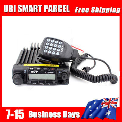 2-way KT-UV980 Mobile Car FM Ham Radio Transceiver 40W 200CH VHF/UHF Band L H1S