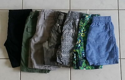 7 x Boys Assorted Summer Shorts Size: 5