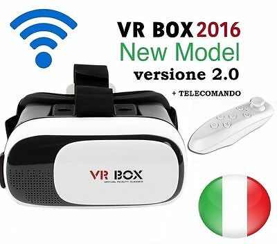 VR BOX 2.0 Occhiali 3D Android 4.1 Virtual Reality con Gamepad Per Iphone  6+ 6s
