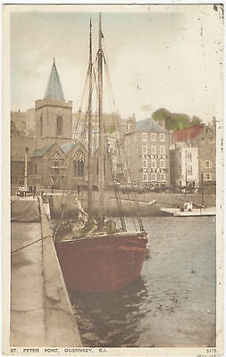 St.Peter Port,Guernsey (near Albion Hotel) 1931-Salmon Series 5175