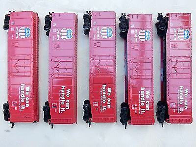 HO Scale Model Train – 5 Bachmann Union Pacific UP168178 Box freight Wagons
