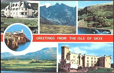 "Postcard- ""greetings From The Isle Of Skye"", Scotland"