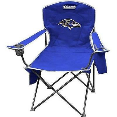 Rawlings Jarden Sports Licensing Ravens Cooler Quad Chair 02771092111
