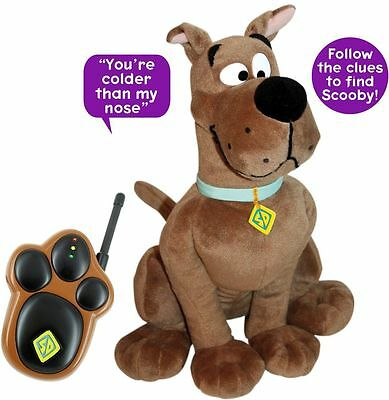 Brand New SCOOBY-DOO TALKING HIDE AND SEEK PLUSH TOY 14""