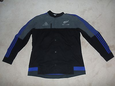New Zealand Adidas Anthem Jacket size XL. BNWT. All Blacks Shirt Training