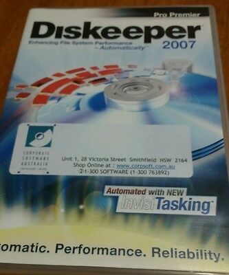 Diskeeper 2007 Pro Permier