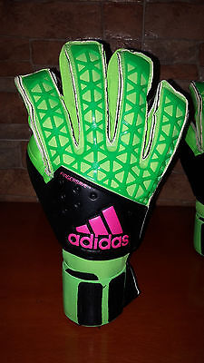 Adidas ACE Zones Fingersave Allround Goalkeeper Gloves AH7807 Size 11.5